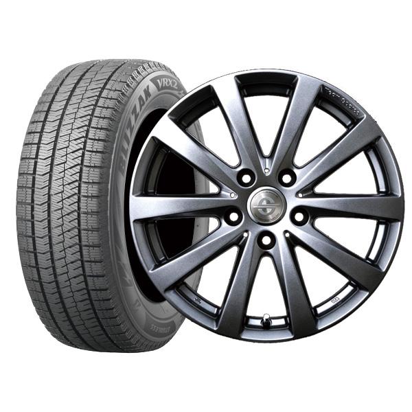 フォード クーガ 215/65R16 ブリヂストン ブリザックVRX2 ホイール :バラーレ 16×6.5 108/5 +50 3X108 輸入車 スタッドレス ホイールセット 4本