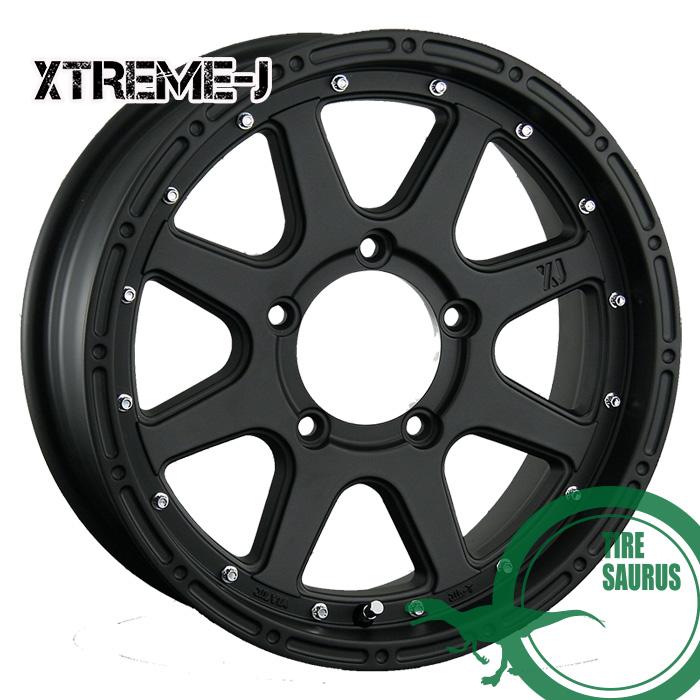 MLJ XTREME-J 16×5.5J PCD139/5 +20 フラットブラック ホイール1枚 エクストリームJ
