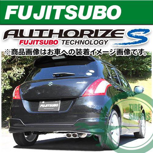 フジツボ マフラー オーソライズS ZC72S スイフト RS 1.2 2WD CVT用 [FUJITSUBO][AUTHORIZE_S][350-81534]