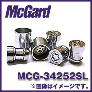 マックガード MCG-34252SL 4個入り 対応車種:スズキ、スバル純正ホイール ハイセキュリティ ロックナットカラー:クローム【ホイールロック】