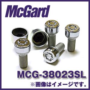 マックガード MCG-38023SL 4個入り 対応車種:M.ベンツ(W201、202、203、168、R170) ハイセキュリティ ロックボルト カラー:クローム【ホイールロック】