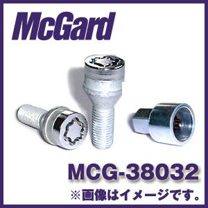 マックガード MCG-38032 4個入り 対応車種:ロリンザーホイール用、VW社外品ホイール用 ロックボルトカラー:クローム【ホイールロック】