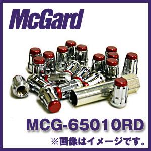 マックガード MCG-65010RD 16個入り 対応車種:ニッサン(日産)、スバル、スズキ ラグナットカラー:赤【ホイールロック】