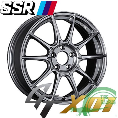 SSR(エスエスアール) GTX01 17×8.0J PCD100/5 +45 ハブ径:73φ FACE:Aタイプ カラー:ダークシルバー 【ジーティーエックス ゼロワン】 注)ホイール1枚です