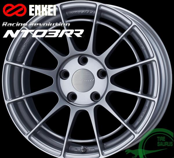 ENKEI(エンケイ) Racing Revolution NT03RR 18×10.0J PCD114/5 +22 ボア径:75φ カラー:MSS(マットスパークルシルバー) 【レーシング レボリューション エヌティー03RR】 注)ホイール1枚です