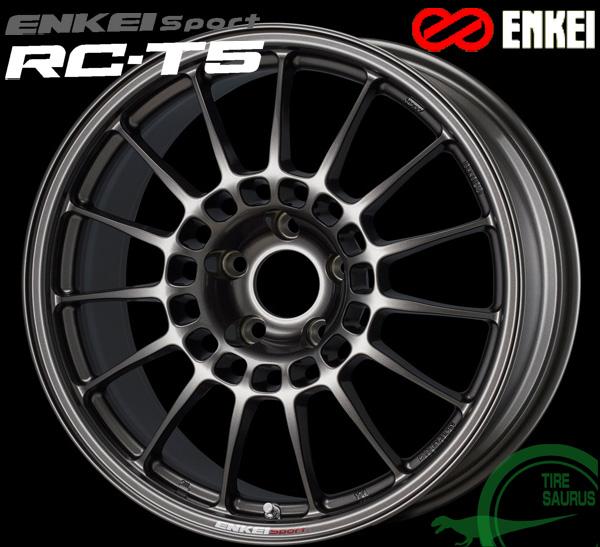 ENKEI エンケイ スポーツ RC-T5 18インチ 9.5J PCD114/5 +55 ボア径:75φ カラー:ダークシルバー ENKEI Sport RC-T5ホイール1枚