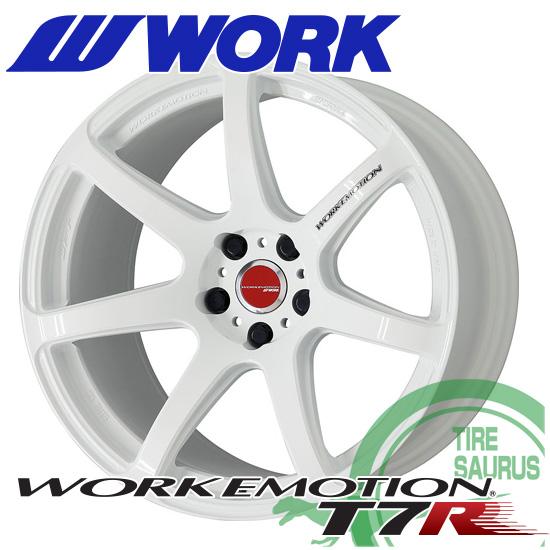 WORK EMOTION T7R 16×5.5J PCD100/4 +45 セミテーパー カラー:ホワイト(WHT) [ワークエモーション ティーセブンアール] 注)ホイール1枚です