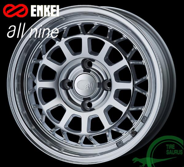 ENKEI(エンケイ) all nine 15×6.0J PCD108/4 +22 ボア径:65φ カラー:ミラーポリッシュ 【オールナイン】 注)ホイール1枚です