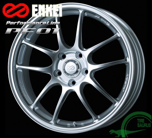 ENKEI エンケイ パフォーマンスライン PF01 16インチ 5.0J PCD100/4H +45 カラー:スパークルシルバーPerformanceLine PF01 ホイール1枚