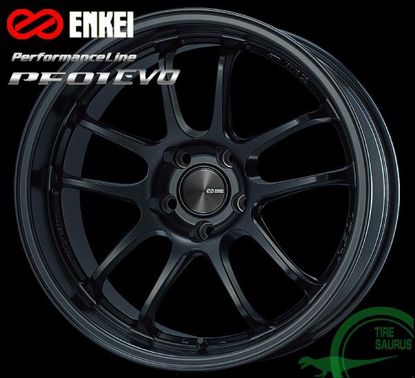 ENKEI エンケイ パフォーマンスライン PF01EVO 18インチ 9.5J PCD114/5 +35 カラー:マットブラック PerformanceLine PF01EVOホイール1枚