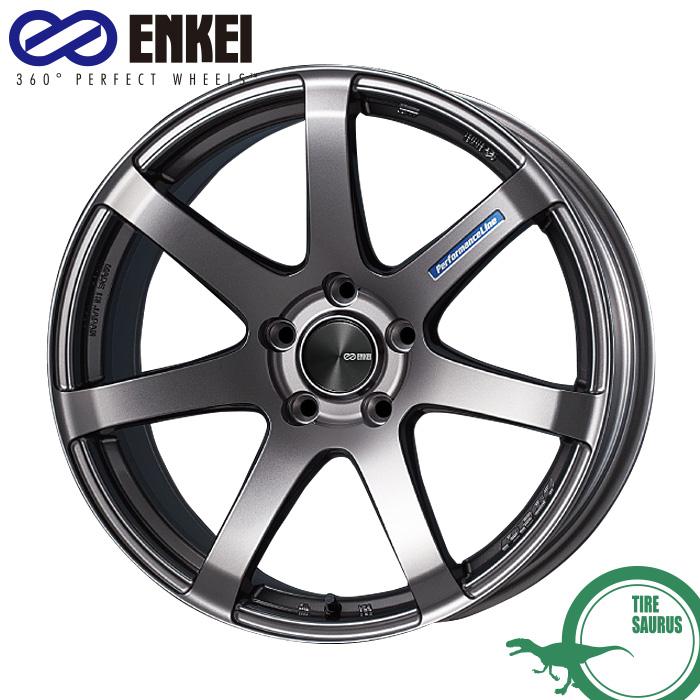 ENKEI エンケイ パフォーマンスライン PF07 17インチ 7.0J PCD100/5 +48 カラー:ダークシルバー PerformanceLine PF07 ホイール1枚