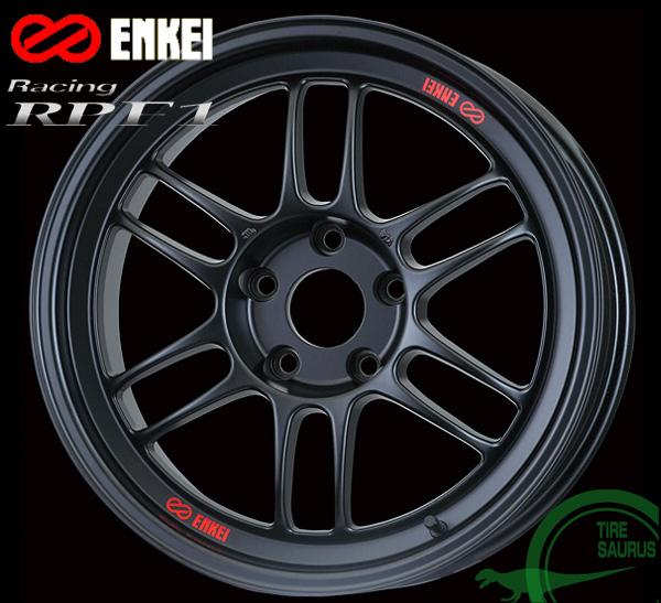 ENKEI エンケイ レーシング RPF1 17インチ 9.5J PCD114/5 +18 カラー:マットブラック Racing RPF1 ホイール1枚
