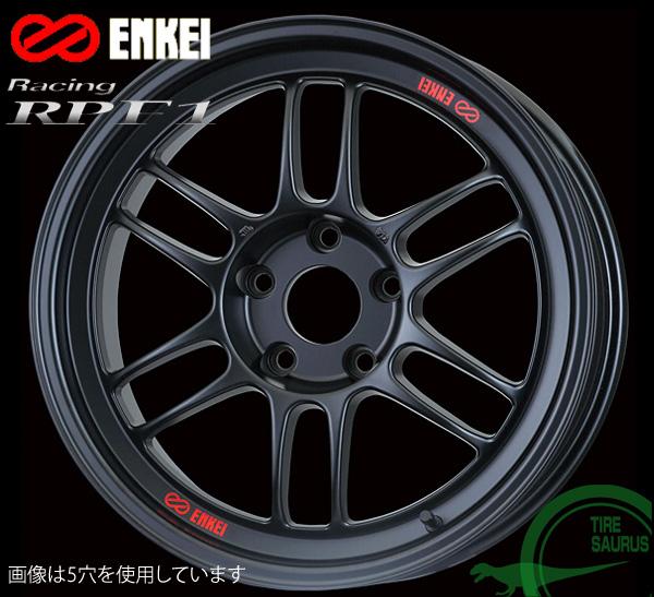 ホイール1枚 感謝価格 《週末限定タイムセール》 国産車用 ENKEI エンケイ レーシング RPF1 15インチ PCD100 4 7.0J +35 カラー:マットブラック Racing