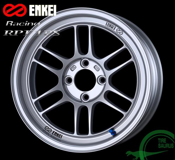 ENKEI エンケイ レーシング RPF1RS 15インチ 8.0J PCD100/4 +28 カラー:Silver(シルバー) ロードスター Racing RPF1RS ホイール1枚