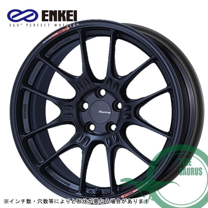 ENKEI GTC02 17×9.0 5/100 +43  φ75 カラー:マットブラック(MBK)エンケイ ホイール1枚価格