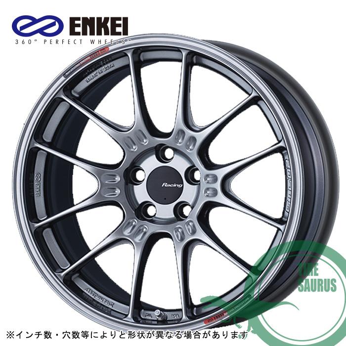ENKEI GTC02 17×8.0 5/100 +42  φ75 カラー:ハイパーシルバー(HS)エンケイ ホイール1枚価格
