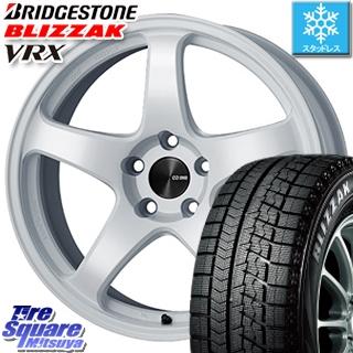 ブリヂストン スタッドレスタイヤ ブリザック VRX スタッドレス 〇 215/50R18 ENKEI PerformanceLine PF05 ホイールセット 4本 18インチ 18 X 7.5 +48 5穴 100