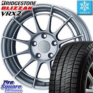 ブリヂストン ブリザック VRX2 スタッドレスタイヤ スタッドレス ● 225/40R18 ENKEI Racing Revolution NT03RR ホイールセット 4本 18 X 8.5 +42 5穴 114.3