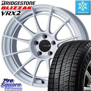 ブリヂストン ブリザック VRX2 スタッドレスタイヤ スタッドレス ● 235/40R18 ENKEI Racing Revolution NT03RR ホイールセット 4本 18 X 8 +45 5穴 114.3