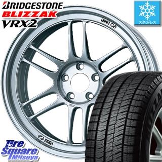 ブリヂストン ブリザック VRX2 スタッドレスタイヤ スタッドレス ● 225/40R18 ENKEI Racing RPF1 ホイールセット 4本 18 X 7.5(MINI) +48 5穴 112