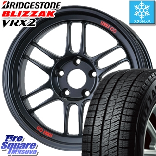 ブリヂストン ブリザック VRX2 スタッドレスタイヤ スタッドレス ● 225/40R18 ENKEI Racing RPF1 ホイールセット 4本 18 X 7.5 +48 5穴 100