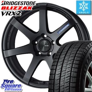 ブリヂストン ブリザック VRX2 スタッドレスタイヤ スタッドレス ● 235/40R19 ENKEI PerformanceLine PF07 -COLORS- ホイールセット 4本 19 X 8 +45 5穴 114.3