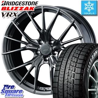 ブリヂストン ブリザック VRX スタッドレスタイヤ スタッドレス 〇 215/50R18 WEDS F ZERO FZ-1 鍛造 FORGED ホイールセット 4本 18 X 8 +45 5穴 114.3
