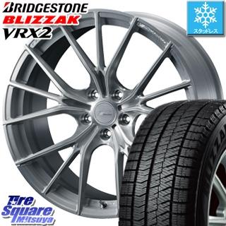 ブリヂストン ブリザック VRX2 スタッドレスタイヤ スタッドレス ● 235/45R18 WEDS F ZERO FZ-1 鍛造 FORGED ホイールセット 4本 18 X 7.5 +38 5穴 114.3