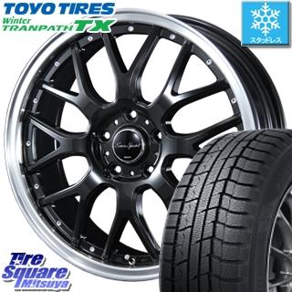 TOYO WINTER TRANPATH TX ウィンタートランパス スタッドレス スタッドレスタイヤ 215/70R16 BLEST Eurosport Type815 ホイールセット 4本 16インチ 16 X 6 +43 5穴 100
