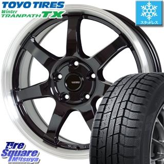 TOYO WINTER TRANPATH TX ウィンタートランパス スタッドレス スタッドレスタイヤ 215/60R16 HotStuff 軽量設計!G.speed P-03 ホイールセット 4本 16インチ 16 X 6.5 +48 5穴 100