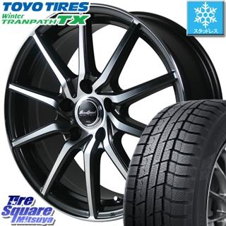 TOYO WINTER TRANPATH TX ウィンタートランパス スタッドレス スタッドレスタイヤ 215/60R16 MANARAY Euro Speed S810 ホイールセット 4本 16インチ 16 X 6.5 +53 5穴 114.3
