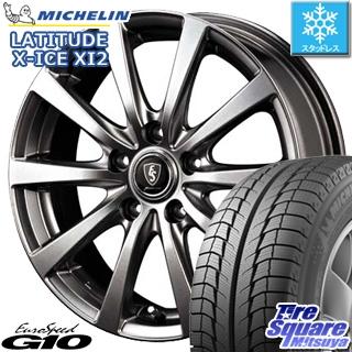 ミシュラン LATITUDE X-ICE XI2 ラチチュード エックスアイス スタッドレス スタッドレスタイヤ 235/65R18 MANARAY EUROSPEED ユーロスピード G10 ホイールセット 4本 18インチ 18 X 7 +48 5穴 114.3