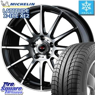 ミシュラン LATITUDE X-ICE XI2 ラチチュード エックスアイス スタッドレス スタッドレスタイヤ 235/65R17 WEDS ウェッズ TEAD TRICK テッドトリック ホイールセット 4本 17インチ 17 X 7 +48 5穴 114.3