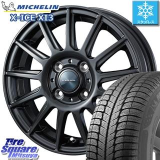 ミシュラン X-ICE XI3 エックスアイス スタッドレス スタッドレスタイヤ 155/65R13 WEDS ヴェルバ イゴール ホイールセット 4本 13インチ 13 X 4 +45 4穴 100