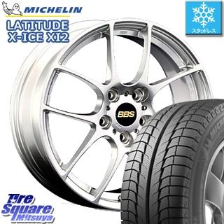 ミシュラン LATITUDE X-ICE XI2 XICE ラチチュード エックスアイス スタッドレスタイヤ 正規品 235/65R18 BBS RF 鍛造1ピース ホイールセット 4本 18インチ 18 X 7.5 +50 5穴 114.3
