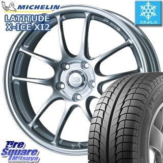 ミシュラン LATITUDE X-ICE XI2 XICE ラチチュード エックスアイス スタッドレスタイヤ 正規品 235/65R18 ENKEI PerformanceLine PF01 ホイールセット 4本 18 X 8 +40 5穴 114.3