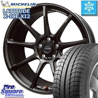 ミシュラン LATITUDE X-ICE XI2 XICE ラチチュード エックスアイス スタッドレス 正規品 235/65R17 HotStuff クロススピード RS9 RS-9 軽量 ホイールセット 17インチ 17 X 7.0J +48 5穴 114.3