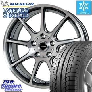 ミシュラン LATITUDE X-ICE XI2 ラチチュード エックスアイス スタッドレス スタッドレスタイヤ 235/65R17 HotStuff 軽量設計!G.speed P-01 ホイールセット 4本 17インチ 17 X 7 +48 5穴 114.3