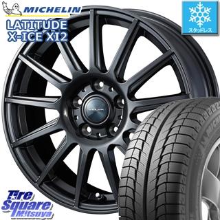 ミシュラン LATITUDE X-ICE XI2 ラチチュード エックスアイス スタッドレス スタッドレスタイヤ 235/65R17 WEDS ヴェルバ イゴール ホイールセット 4本 17インチ 17 X 7 +48 5穴 114.3