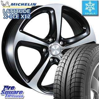 ミシュラン LATITUDE X-ICE XI2 ラチチュード エックスアイス スタッドレス スタッドレスタイヤ 215/70R16 ブリヂストン BALMINUM Z5 平座仕様(トヨタ車専用) ホイールセット 4本 16 X 6.5 +39 5穴 114.3