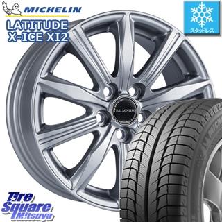 ミシュラン LATITUDE X-ICE XI2 ラチチュード エックスアイス スタッドレス スタッドレスタイヤ 235/70R16 ブリヂストン BALMINUM KR10 平座仕様(トヨタ車専用) ホイールセット 4本 16 X 6.5 +39 5穴 114.3