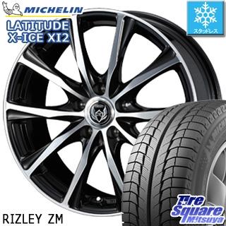 ミシュラン LATITUDE X-ICE XI2 ラチチュード エックスアイス スタッドレス スタッドレスタイヤ 235/65R18 WEDS ウェッズ RIZLEY ライツレー ZM ホイールセット 4本 18インチ 18 X 7.5 +38 5穴 114.3