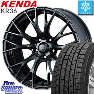 KENDA スタッドレスタイヤ ICETEC NEO KR36 2018年製 スタッドレス 215/60R16 WEDS WedsSport ウェッズ スポーツ SA-20R ホイールセット 4本 16インチ 16 X 7 +52 5穴 114.3