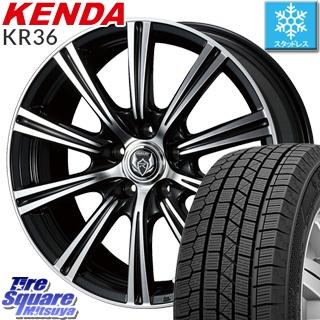 KENDA ICETEC NEO KR36 2018年製 スタッドレス スタッドレスタイヤ 215/65R16 WEDS ウェッズ RIZLEY ライツレー XS ホイールセット 4本 16インチ 16 X 6.5 +53 5穴 114.3