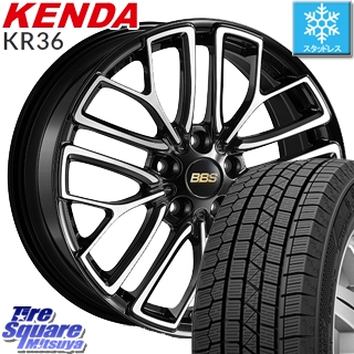 KENDA ICETEC NEO KR36 2019年製 スタッドレス スタッドレスタイヤ 235/50R18 BBS RE-X 鍛造1ピース ホイールセット 4本 18インチ 18 X 8 +46 5穴 114.3