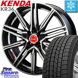 【予告4/23~クーポン発行します!】 KENDA ICETEC NEO KR36 2019年製【特価】ケンダ スタッドレスタイヤ軽自動車 165/55R15 BLEST Eurosport Regulus A1 ホイールセット 15インチ 15 X 5.0J +45 4穴 100