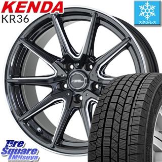 KENDA スタッドレスタイヤ ICETEC NEO KR36 2018年製 スタッドレス 235/50R18 HotStuff クロススピードプレミアム RS-10 軽量 4本 ホイールセット 18インチ 18 X 8 +42 5穴 114.3