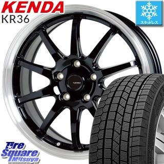【4/20は最大26倍】 KENDA ICETEC NEO KR36 2019年製【特価】ケンダ スタッドレスタイヤ 195/60R15 HotStuff 軽量設計!G.speed P-04 ホイールセット 15インチ 4月末迄特価 15 X 6.0J +43 5穴 100