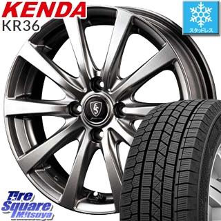 【予告5/10 Rカードで最大46倍!】 KENDA ICETEC NEO KR36 2018年製 【特価】ケンダ スタッドレスタイヤ 165/55R14 MANARAY EUROSPEED ユーロスピード G10 ホイールセット 14インチ 14 X 4.5J +46 4穴 100
