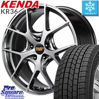 KENDA ICETEC NEO KR36 2019年製【特価】ケンダ スタッドレスタイヤ 225/45R18 MANARAY RMP-025F ホイールセット 18インチ 18 X 7.0J +50 5穴 100